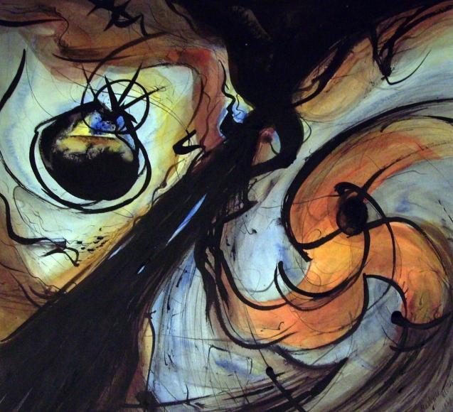 Barbara Morgan - Untitled, 1969 Watercolor on paper | Bruce Silverstein Gallery