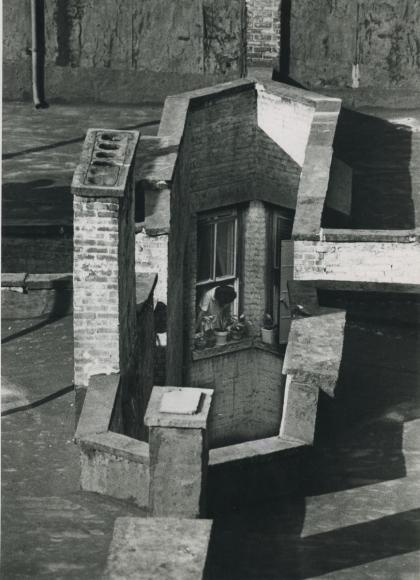 André Kertész - Three September Windows, 1970  | Bruce Silverstein Gallery