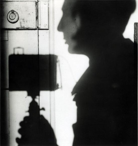 André KertészSelf-Portrait, Paris, 1927 Gelatin silver print, printed c. 1970. 8 3/16 x 7 3/4 inches
