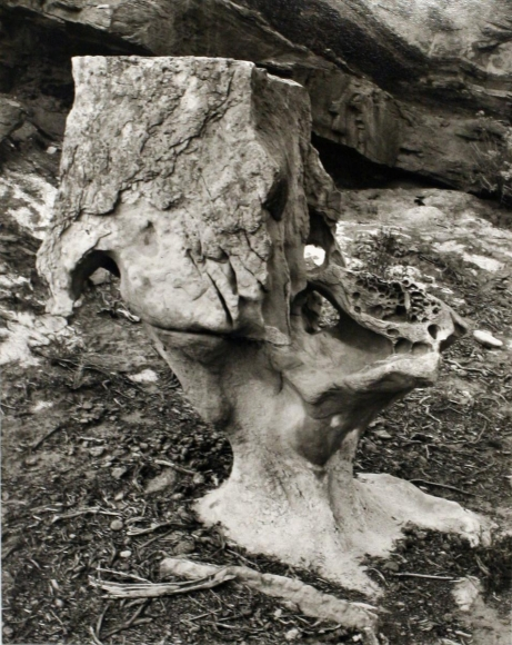 Champagne Rock, 1940 	Gelatin silver print mounted to board, printed c. 1990s. 9 1/2 x 7 1/2 inches