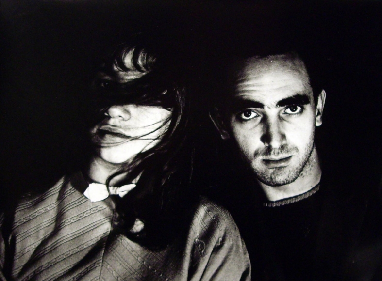 Fiorella e Roberto, 1955 	(Fiorella and Roberto) 	Gelatin silver print, printed later 	11 3/8 x 14 7/8 inches