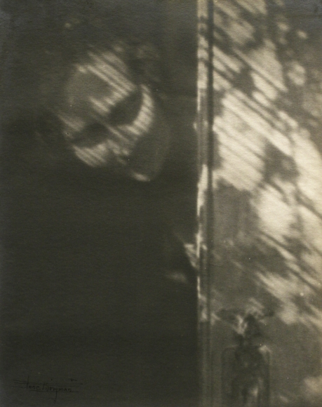 Anne Brigman, The Shadow on My Door (Self-Portrait), 1921