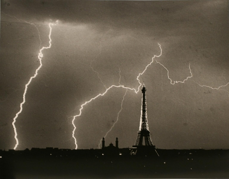 André KertészEiffel Tower, 1927 Gelatin silver print, printed c. 1967. 11 x 14 inches