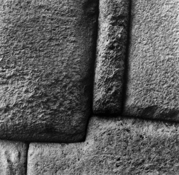 Aaron Siskind Cusco Wall 64, 1975 Gelatin silver print, printed c.1975 8 x 10 inches