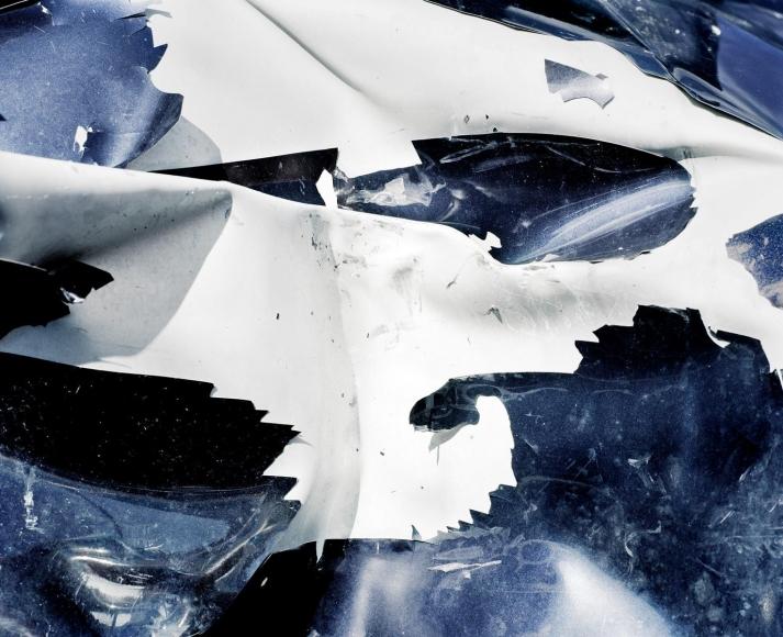 Car Crash Studies, Untitled #1, 2009 Chromogenic print. 70 7/8 x 86 5/8 inches