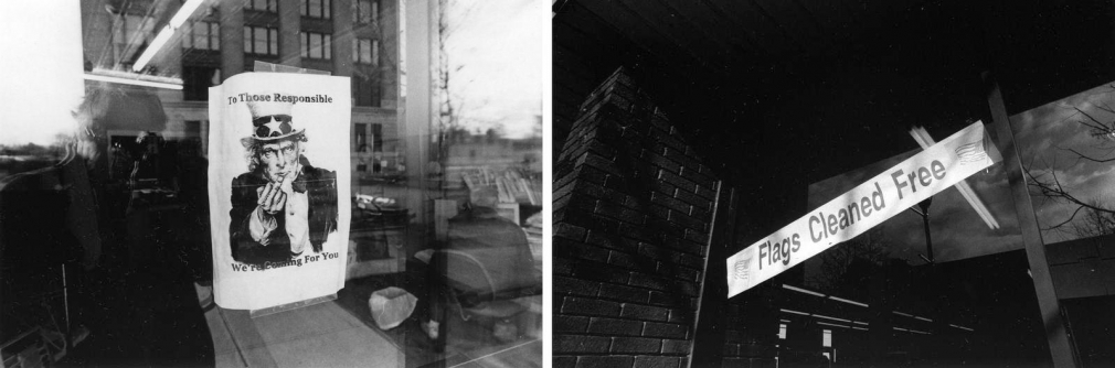 Untitled (After 9/11), 2001-2002 Gelatin silver prints, printed c. 2001-2002 5 x 7 1/4 inches each