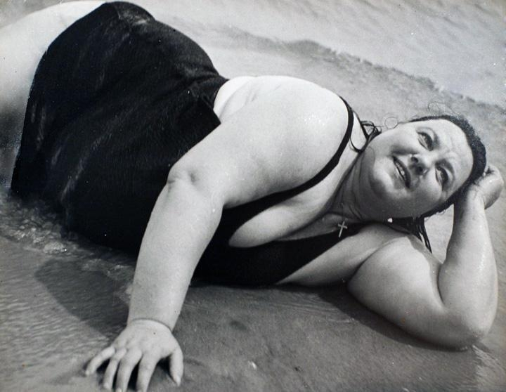 Lisette Model,Coney Island Bather, New York (Reclining),1939-1941 | Bruce Silverstein Gallery