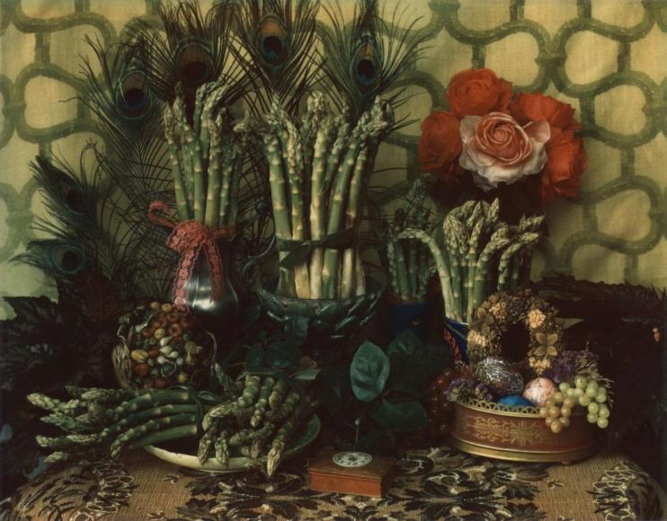 Marie Cosindas - Asparagus III, 1967    Bruce Silverstein Gallery