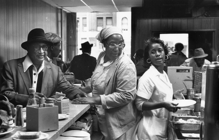 Chester Higgins -  Adele's, Harlem, 1974
