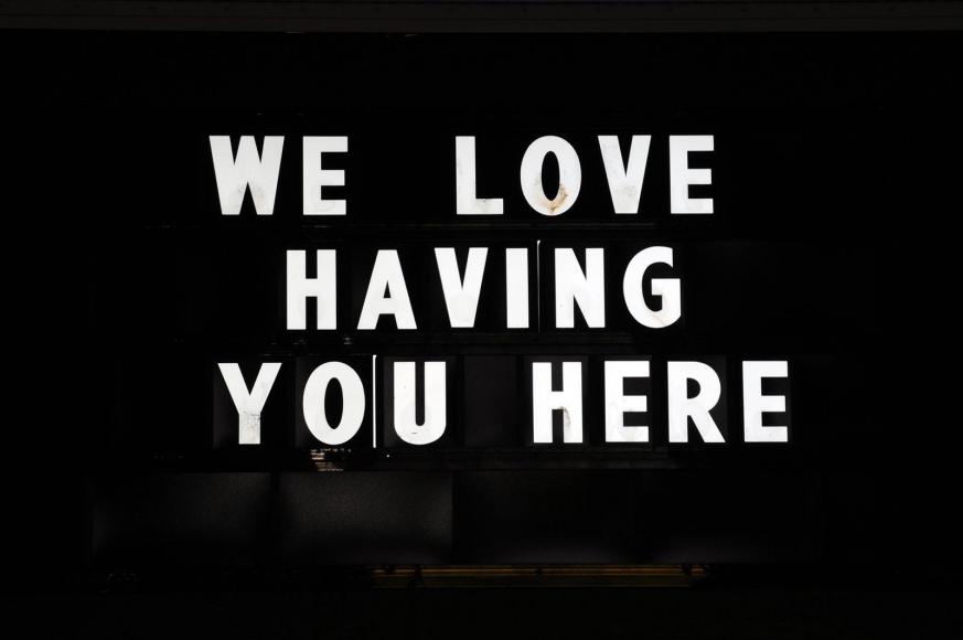 Zoe Strauss - We Love Having You Here, 2001-2008  | Bruce Silverstein Gallery