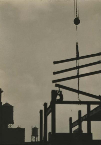 E. O. Hoppé - Steel Construction, Philadelphia, 1926    Bruce Silverstein Gallery