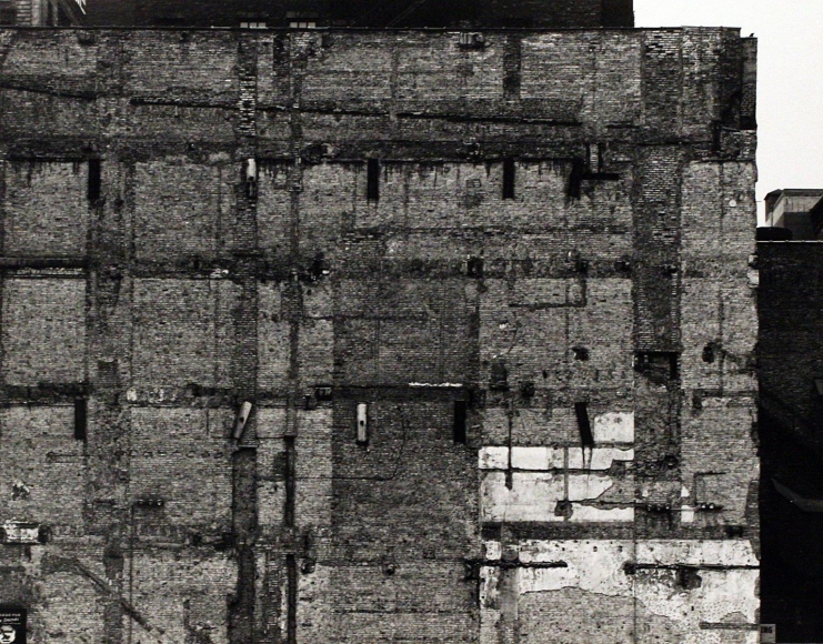 Aaron Siskind Chicago Facade, 1960 Gelatin silver print mounted to board, printed c. 1960. 10 3/8 x 13 1/8 inches