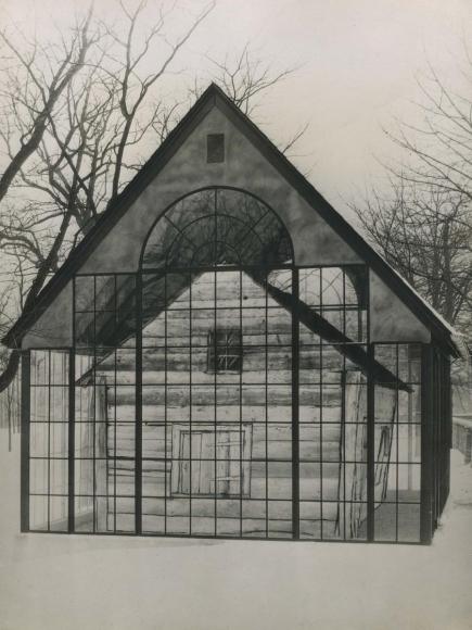 E. O. Hoppé - Enclosed Presbyterian Church, Derry Pennsylvania, 1926 | Bruce Silverstein Gallery