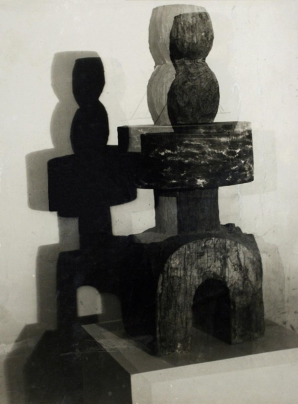 Constantin Brâncuşi - Architectural Project, c. 1923 | Bruce Silverstein Gallery