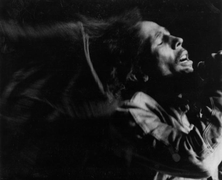 Chester Higgins -  Bob Marley, Final Performance at Madison Square Garden, New York, 1980