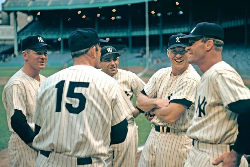 Marvin E. Newman - Night baseball game, Yankee Stadium, Bronx, New York, 1983  | Bruce Silverstein Gallery
