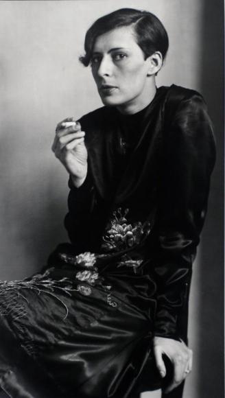 August Sander- Secretary at West German Radio, Cologne, 1931  | Bruce Silverstein Gallery