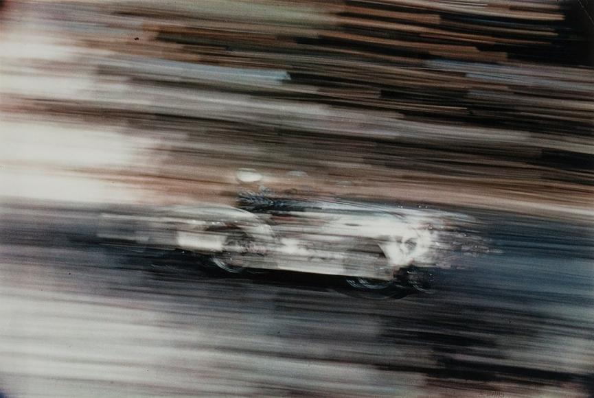 Ernst Haas -  Race Car,c. 1963    Bruce Silverstein Gallery