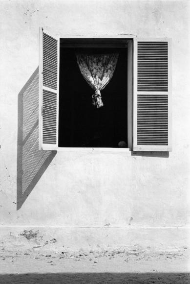 Chester Higgins -  Gorée window, Dakar, Senegal, 1972