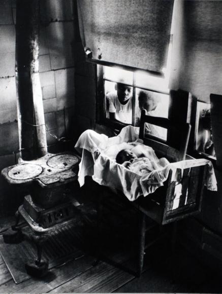 Nurse Midwife, Maude Callen, 1951  Gelatin silver print, printed c. 1951  16 x 20 inches