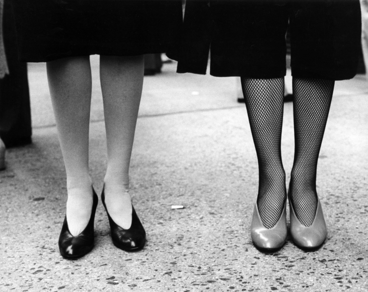 The Legs of Bendel's President and Vice President, 1979, Gelatin silver print, printed c. 1979