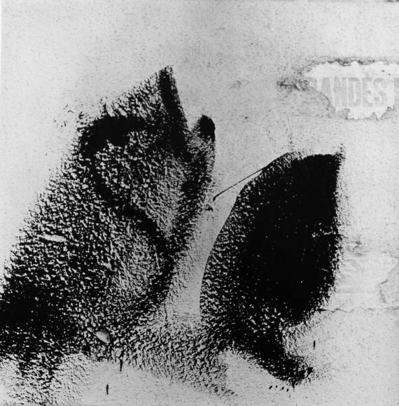 Aaron Siskind Jalapa 11, 1973 Gelatin silver print, printed c.1973 20 x 16 inches
