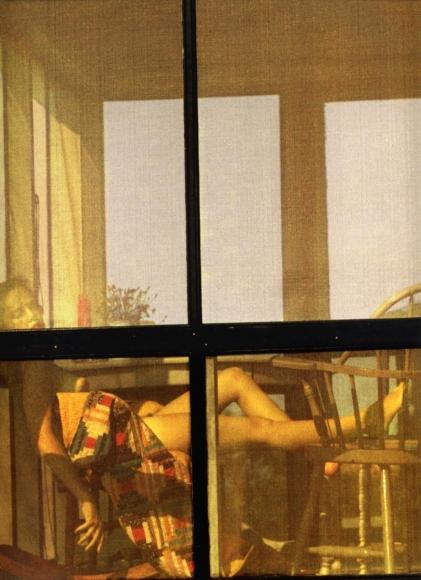 Saul Leiter -  Lanesville (variant), 1958  | Bruce Silverstein Gallery