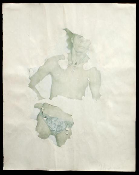 Robert Mapplethorpe (1946-1989), Sans Titre (Self Portrait), 1971