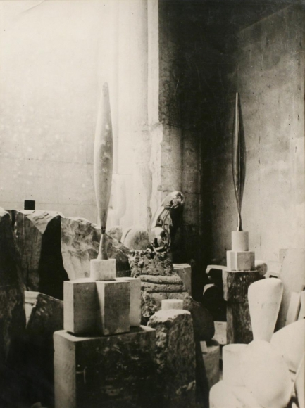 Constantin Brâncuşi - View of the Studio: Bird in Space, 1924 | Bruce Silverstein Gallery