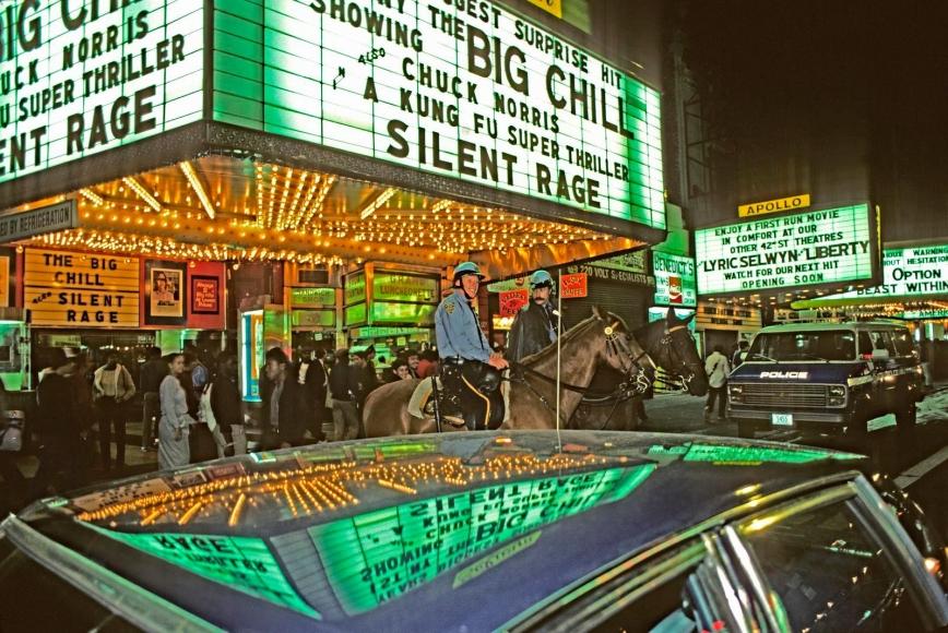 Marvin E. Newman - 42nd Street III, 1983  | Bruce Silverstein Gallery