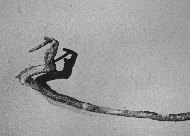 Aaron Siskind Driftwood, c. 1940 Gelatin silver print mounted to board, printed c. 1943. 4 1/2 x 6 3/8 inches