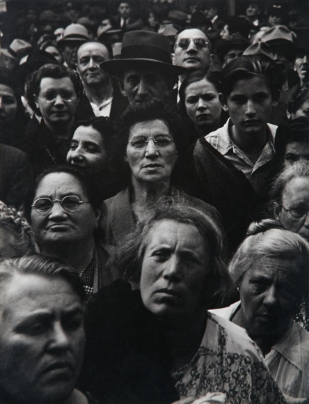 Lisette Model -  War Rally, New York, 1942  | Bruce Silverstein Gallery