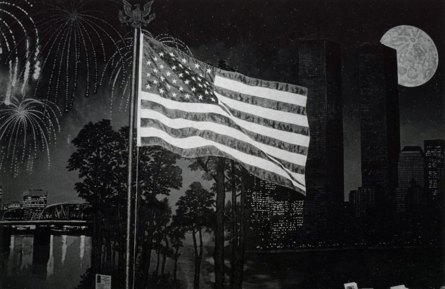 Nathan Lyons - Untitled (After 9/11), 2001-2002 | Bruce Silverstein Gallery