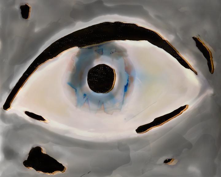 Brea Souders - Pale Eye, 2015 Archival Inkjet print ; Bruce Silverstein Gallery