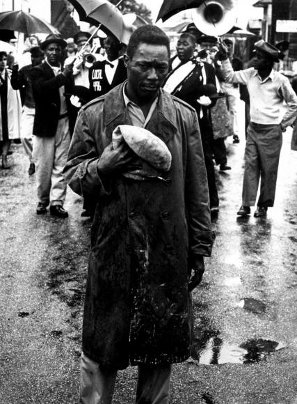 Leonard Freed - Black in White America, New Orleans, 1965  | Bruce Silverstein Gallery