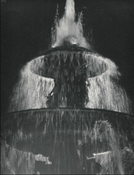 Ilse BingFountain at Night, Place de la Concorde, 1933 Gelatin silver print, printed c. 1933. 11 x 8 3/4 inches