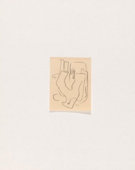 Frederick Sommer - Untitled, 1932 Crayon drawing on paper | Bruce Silverstein Gallery