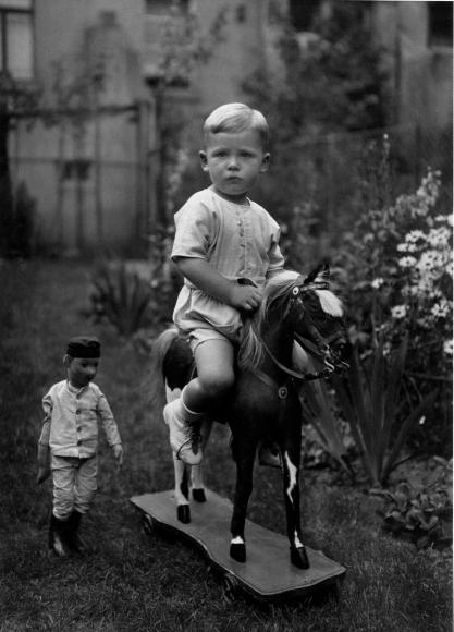 August Sander - Middle-Class Child, c. 1925  | Bruce Silverstein Gallery