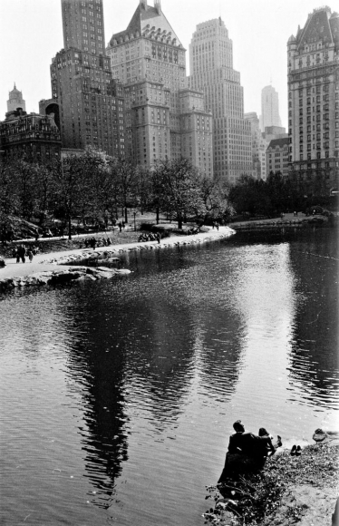 Frank Paulin - Spring, Central Park, New York City, 1956 Gelatin silver exhibition print mounted to board, printed c. 1956 | Bruce Silverstein Gallery