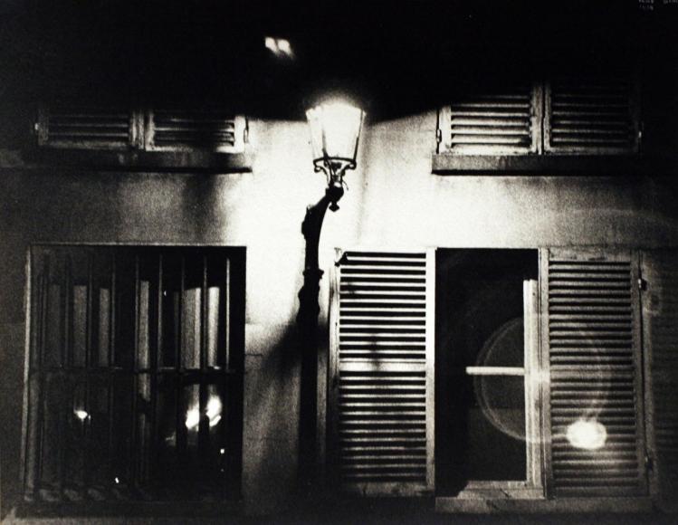 Ilse BingRue de la Chaise, Paris, 1934 Gelatin silver print mounted to board, printed c. 1934. 8 3/4 x 11 1/8 inches