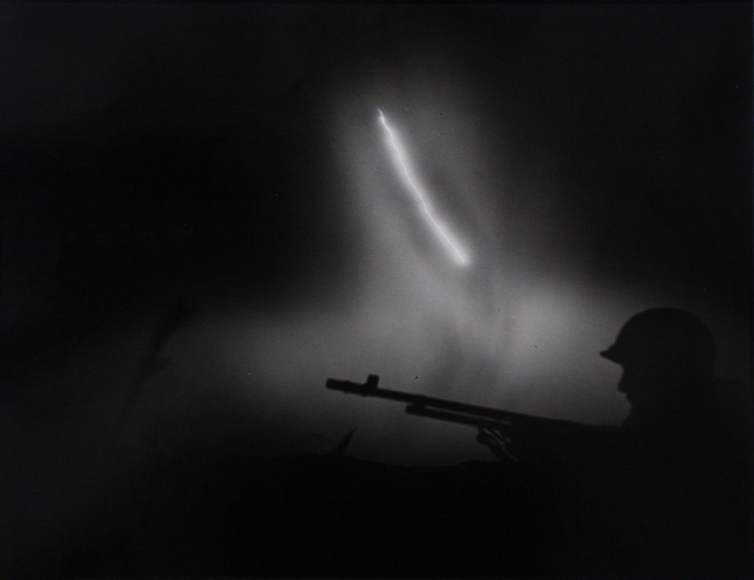 W. Eugene Smith - World War II, Okinawa, Terry Moore, 1945  | Bruce Silverstein Gallery