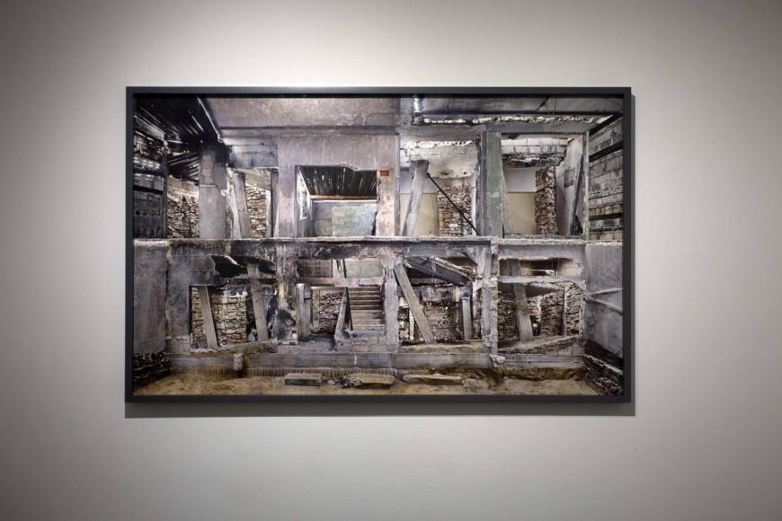 Marjan Teeuwen- Destroyed House Gaza 3, 2017 | Bruce Silverstein Gallery