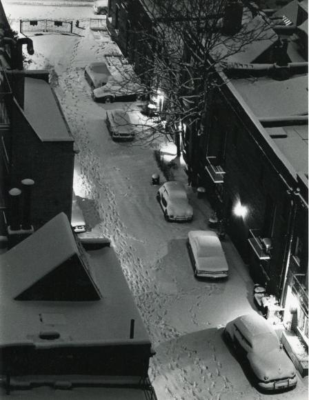 André KertészJanuary 25, 1963 Gelatin silver print, printed c. 1963. 8 3/4 X 7 3/4 inches