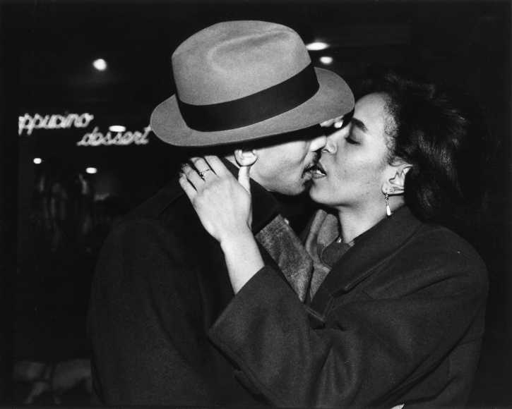 Chester Higgins -  Lance and Lori, Manhattan, 1990