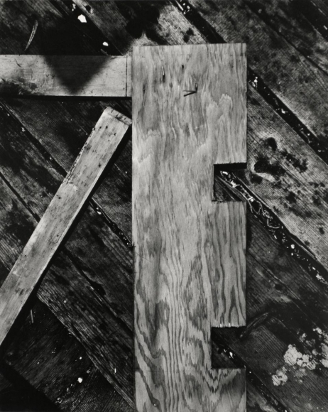 Aaron Siskind Gloucester 6, 1944 Gelatin silver print mounted to board, printed c. 1944. 10 x 8 inches
