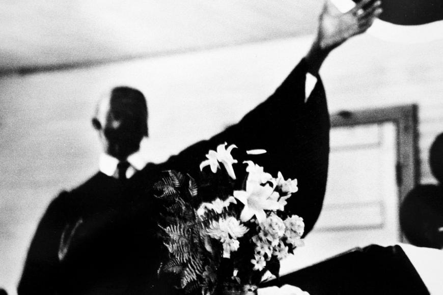 Leonard Freed - Black in White America, South Carolina, 1964  | Bruce Silverstein Gallery