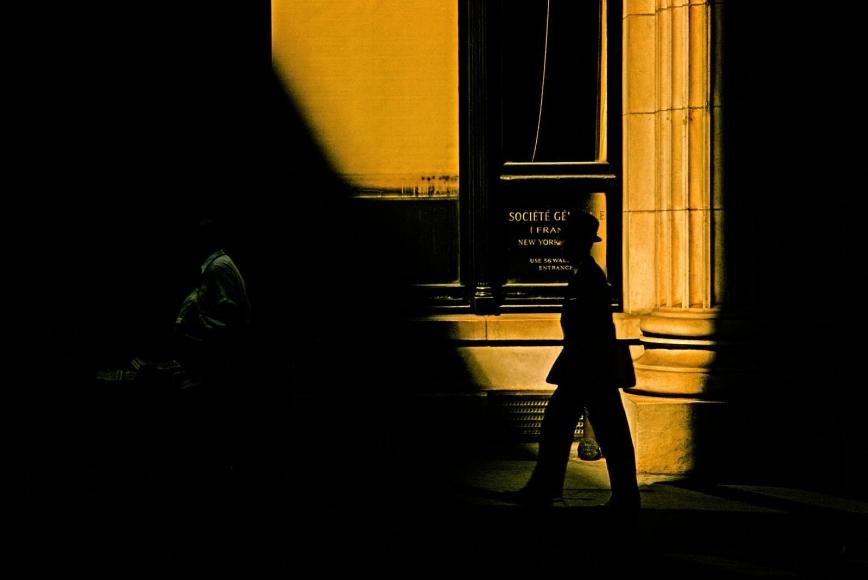 Marvin Newman -  Wall Street V, 1956  | Bruce Silverstein Gallery