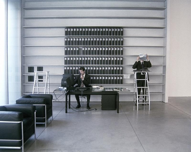 Lazarus, JasonSelf Portrait as an Artist (Visiting the Mary Boone Gallery, NYC), 2004 Archival inkjet print 17 x 23 inches