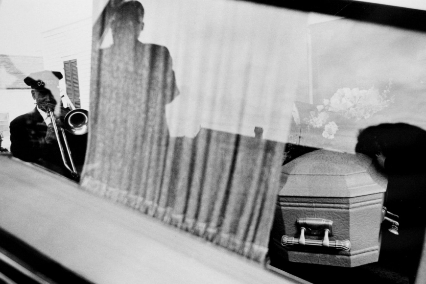 Leonard Freed - Black in White America, New Orleans, 1964  | Bruce Silverstein Gallery