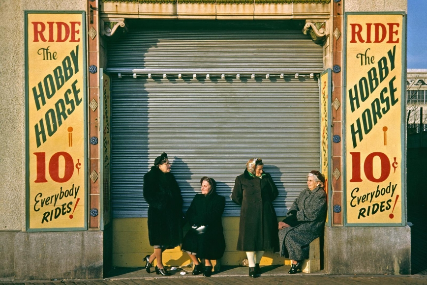 Marvin Newman -  Coney Island IV, 1953  | Bruce Silverstein Gallery